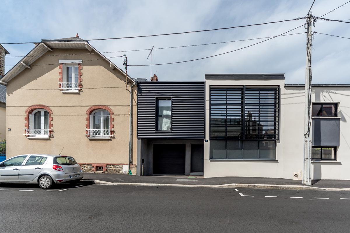 Maison rosa archiprim for Architecture rennes